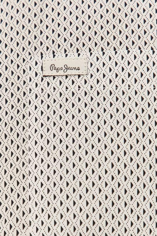 Pepe Jeans - Bavlnená košeľa Lawson biela