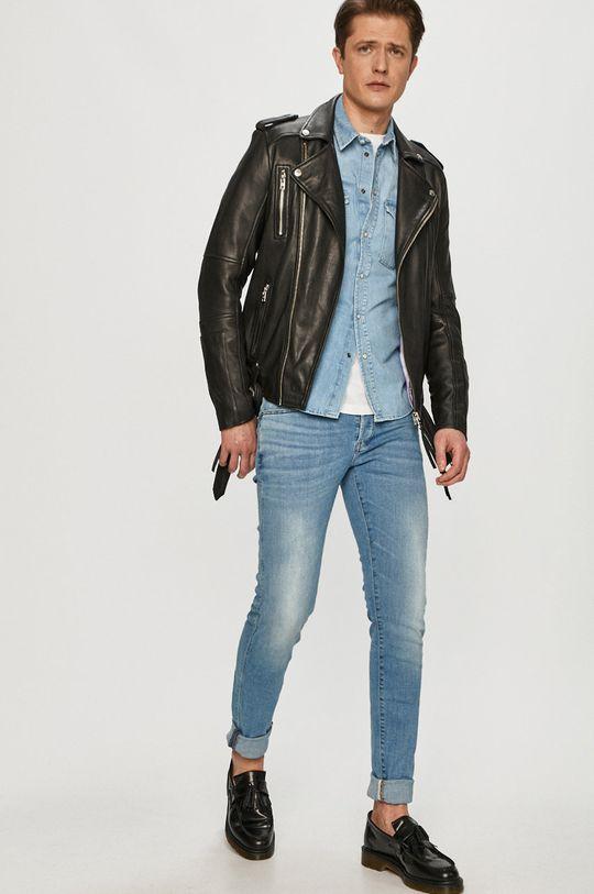 Pepe Jeans - Bavlněné tričko Noah  100% Bavlna