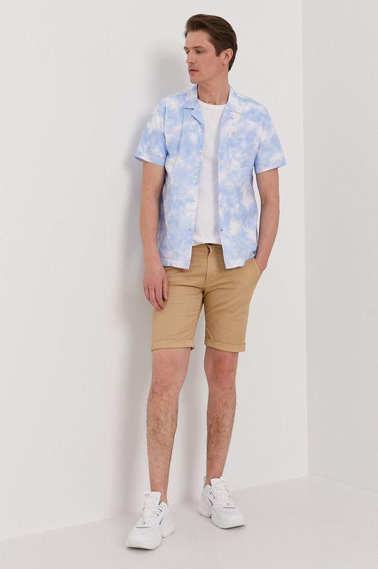 Pepe Jeans - Koszula bawełniana Shawn 100 % Bawełna