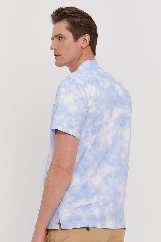 niebieski Pepe Jeans - Koszula bawełniana Shawn