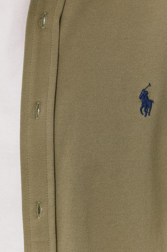 Polo Ralph Lauren - Koszula bawełniana oliwkowy