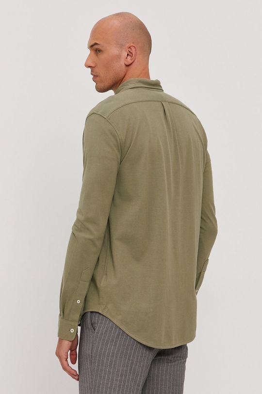 oliwkowy Polo Ralph Lauren - Koszula bawełniana