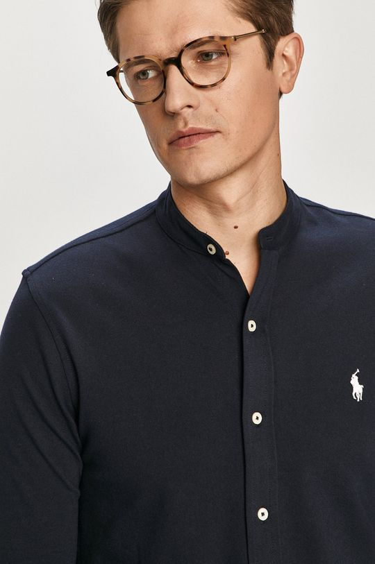námořnická modř Polo Ralph Lauren - Bavlněné tričko Pánský