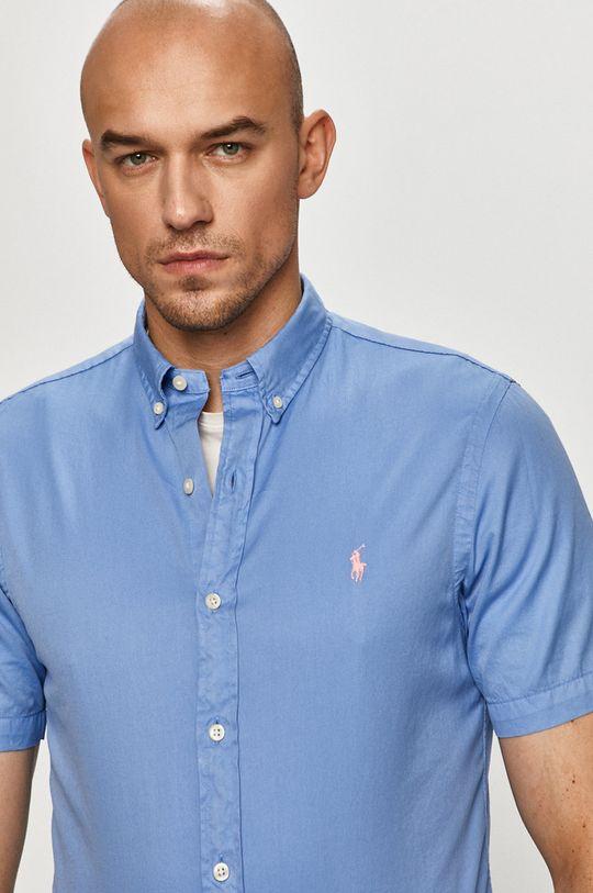 блакитний Polo Ralph Lauren - Бавовняна сорочка Чоловічий