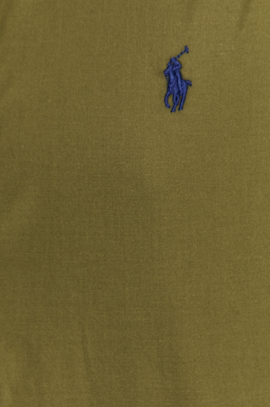 Polo Ralph Lauren - Bavlnená košeľa olivová
