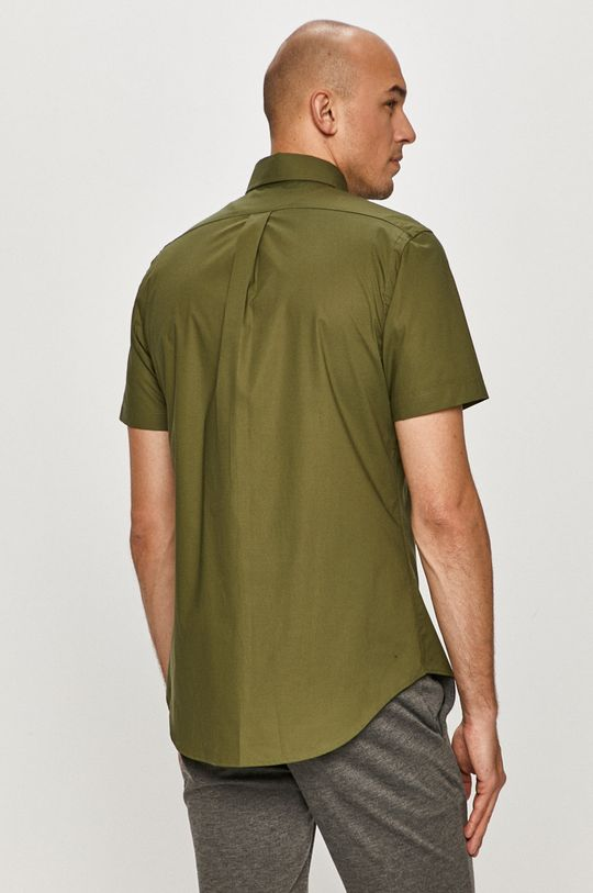 olivová Polo Ralph Lauren - Bavlnená košeľa