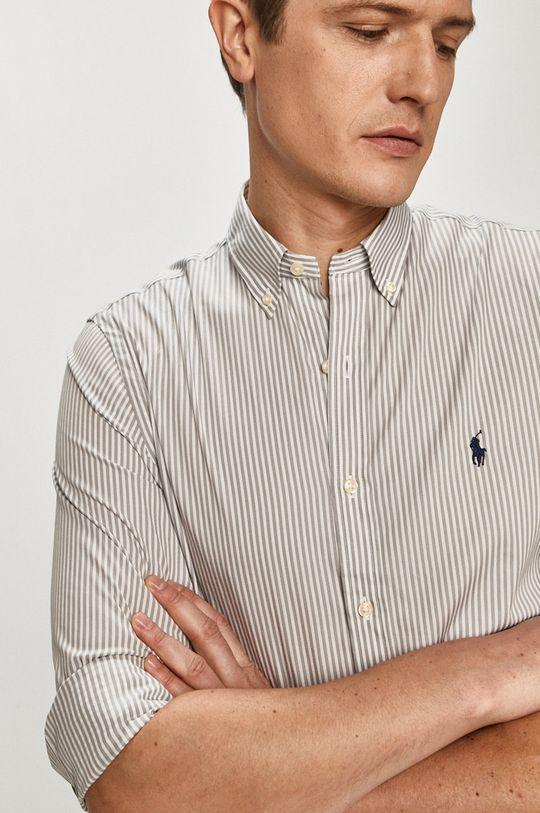 szary Polo Ralph Lauren - Koszula Męski