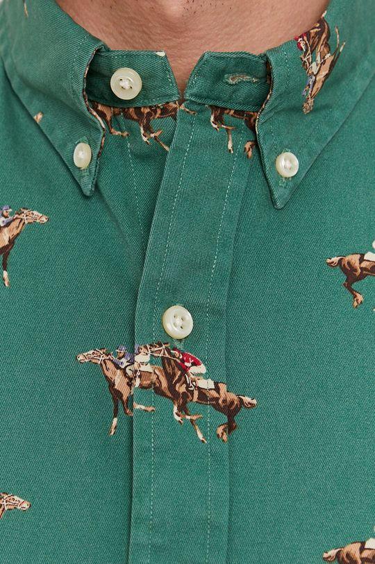 Polo Ralph Lauren - Koszula bawełniana zielony