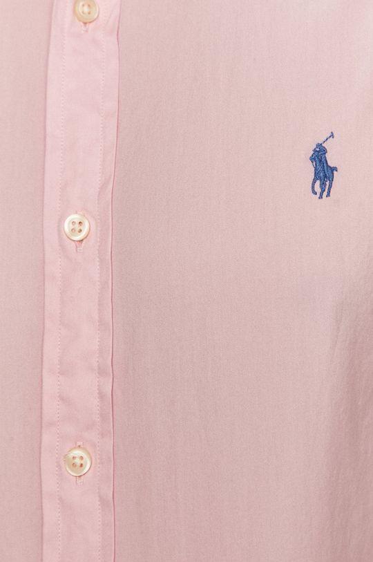 Polo Ralph Lauren - Бавовняна сорочка рожевий