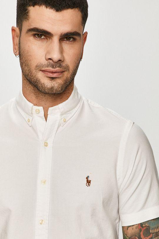 biały Polo Ralph Lauren - Koszula Męski