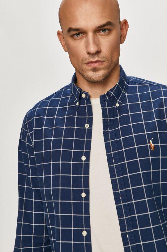 granatowy Polo Ralph Lauren - Koszula bawełniana Męski