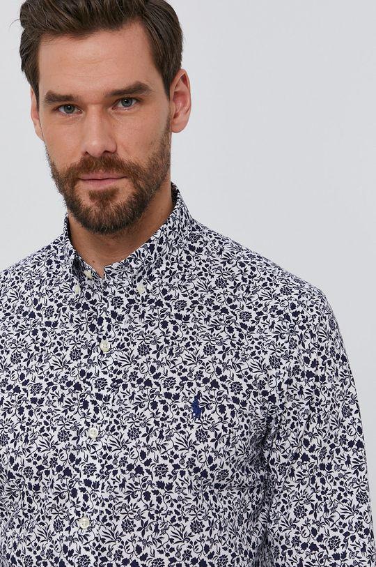 tmavomodrá Polo Ralph Lauren - Bavlnená košeľa Pánsky