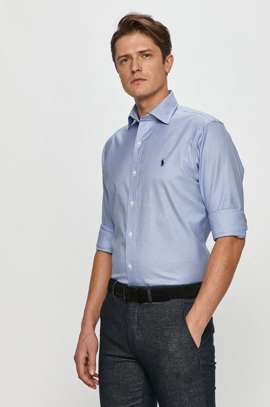 Polo Ralph Lauren - Bavlnená košeľa modrá