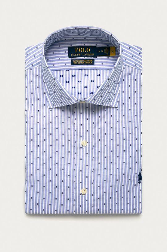 modrá Polo Ralph Lauren - Bavlněné tričko Pánský