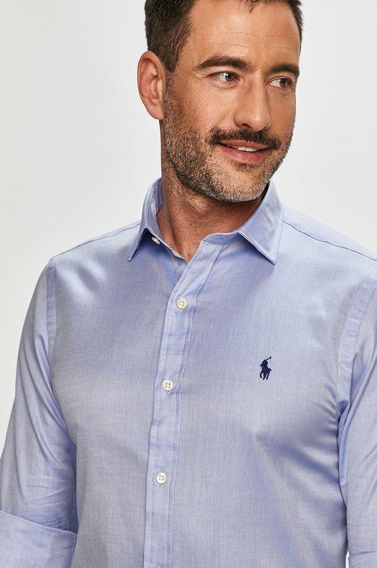 modrá Polo Ralph Lauren - Košile Pánský