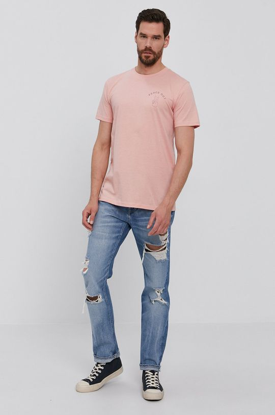 Selected - T-shirt różowy