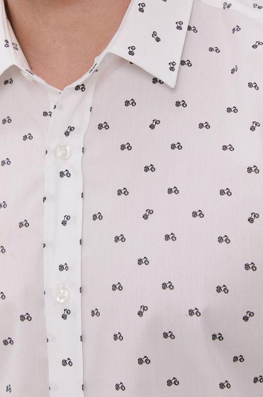 Hugo - Bavlnená košeľa biela