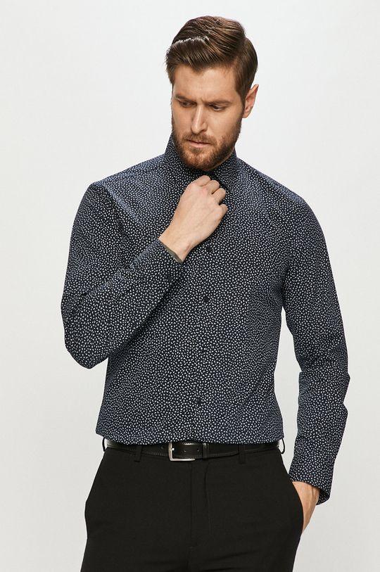 tmavomodrá Hugo - Košeľa Pánsky