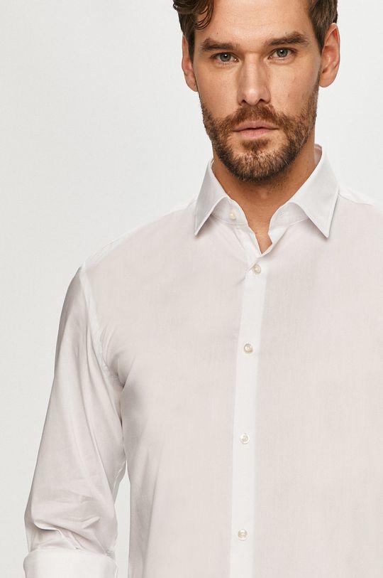 biały Hugo - Koszula Męski