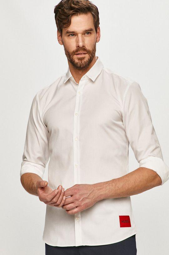 biela Hugo - Bavlnená košeľa Pánsky