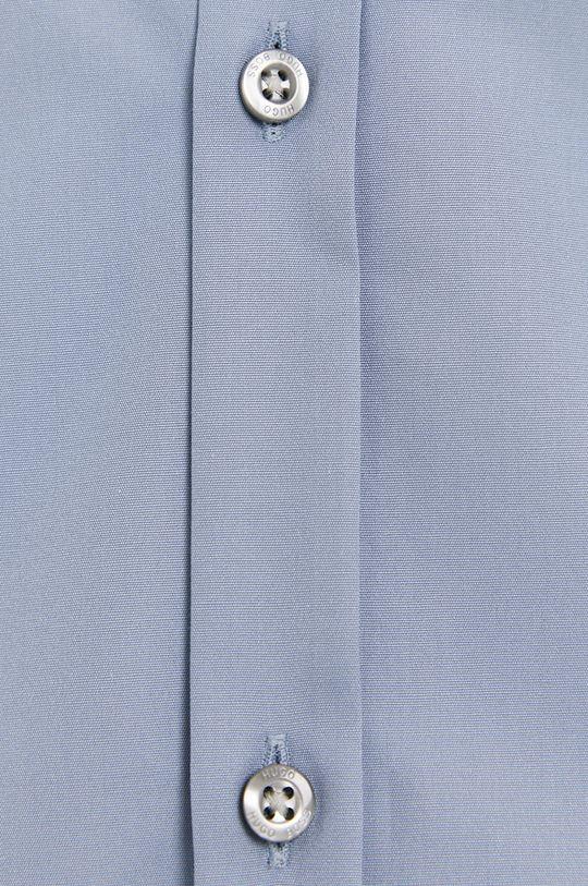 Hugo - Bavlněné tričko světle modrá