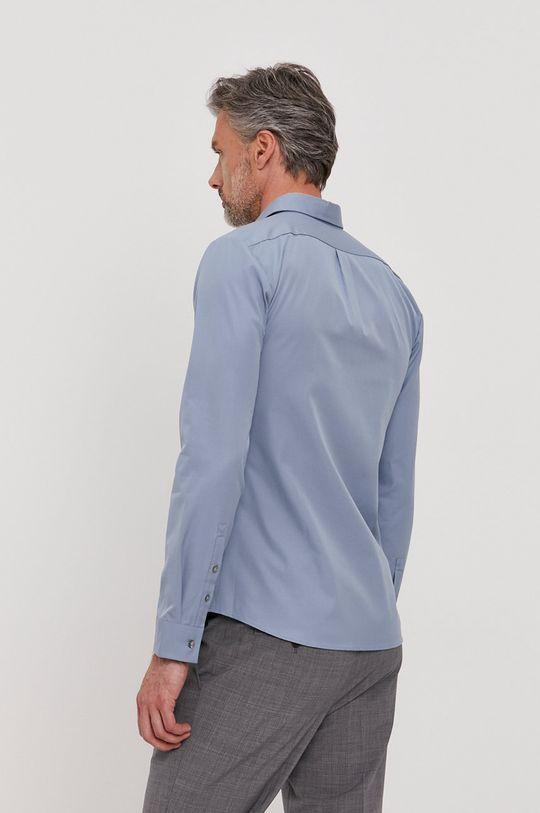 světle modrá Hugo - Bavlněné tričko