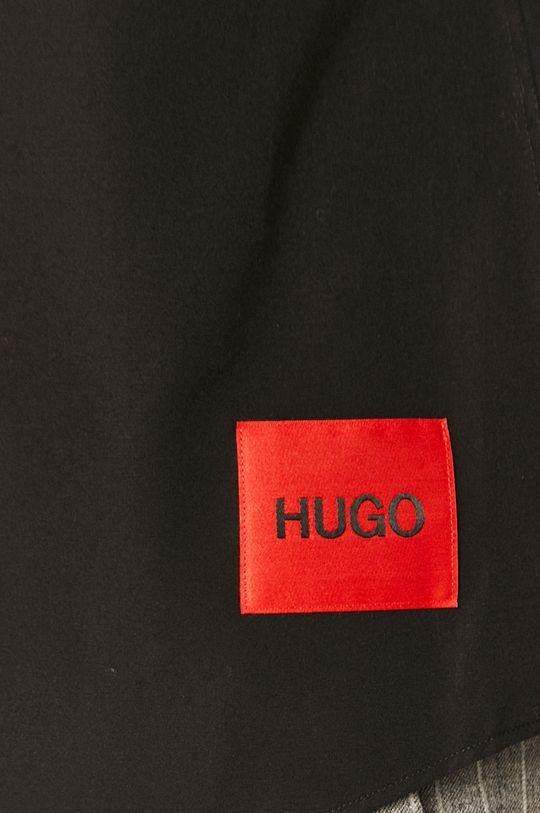 Hugo - Camasa din bumbac negru