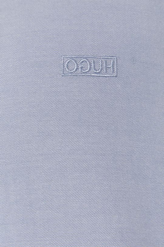 Hugo - Koszula bawełniana jasny niebieski