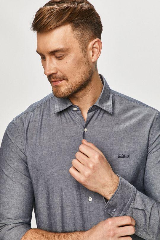 námořnická modř Hugo - Bavlněná košile Pánský