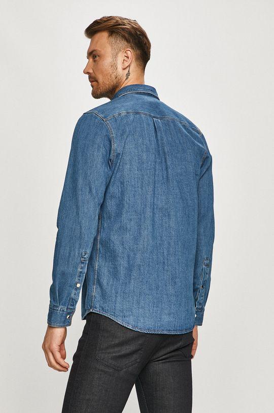modrá Hugo - Bavlněné tričko