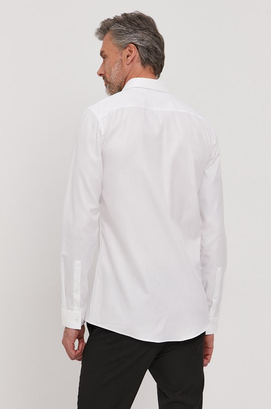 biela Hugo - Bavlnená košeľa