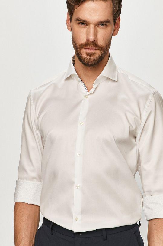 bílá Hugo - Bavlněné tričko Pánský