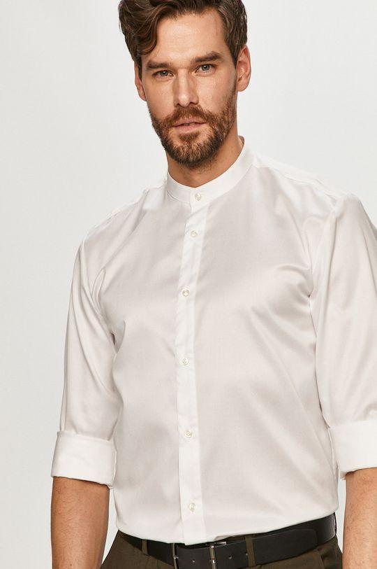 alb Hugo - Camasa din bumbac De bărbați