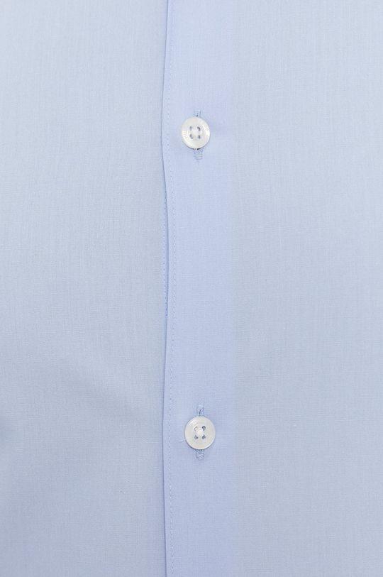 Hugo - Camasa din bumbac albastru deschis