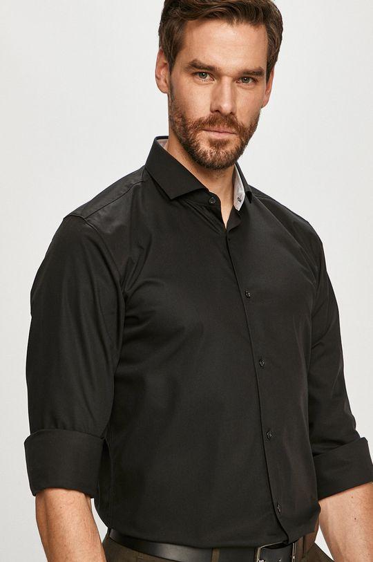 černá Hugo - Bavlněné tričko