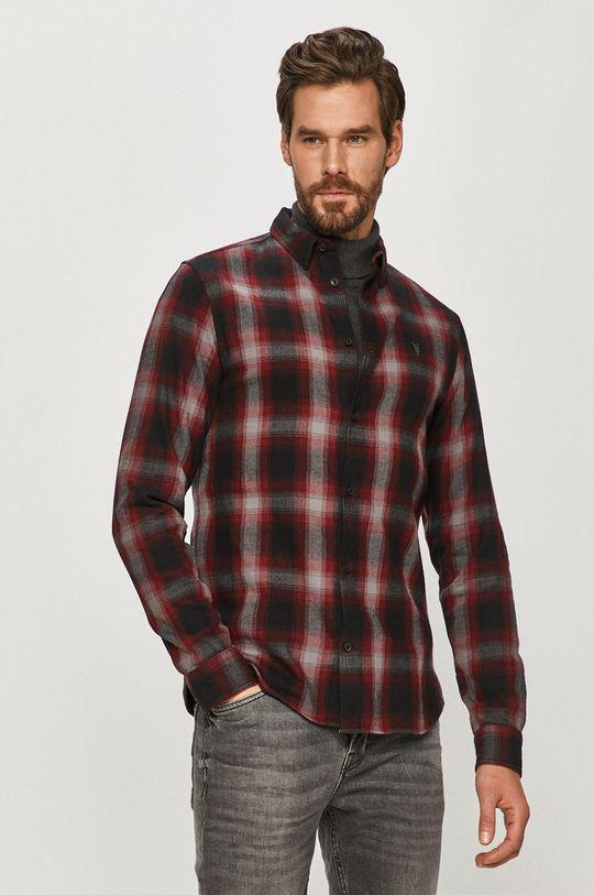 černá AllSaints - Bavlněné tričko Pánský