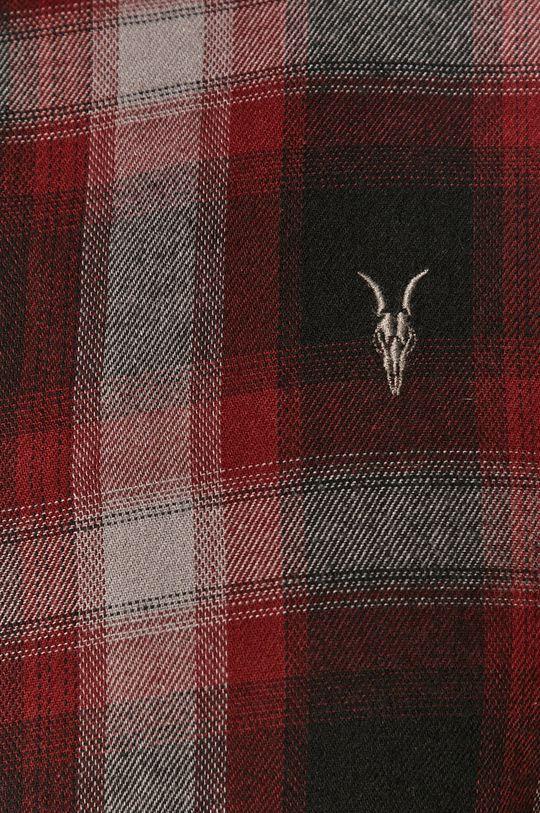AllSaints - Bavlněné tričko černá