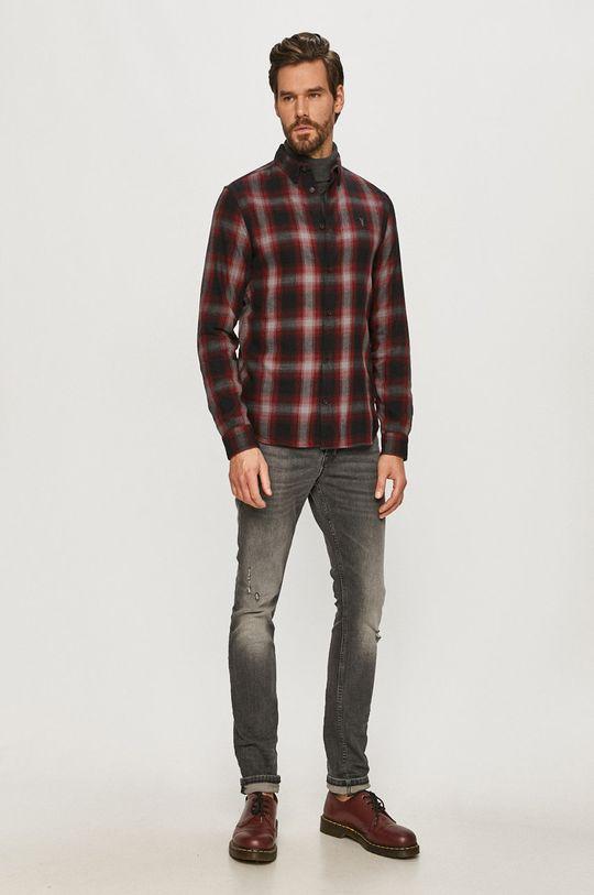 AllSaints - Bavlněné tričko  100% Bavlna