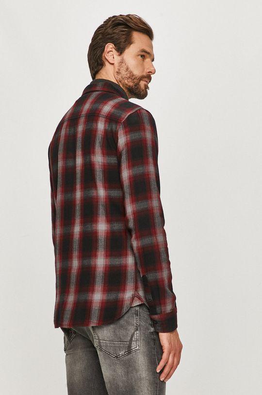černá AllSaints - Bavlněné tričko