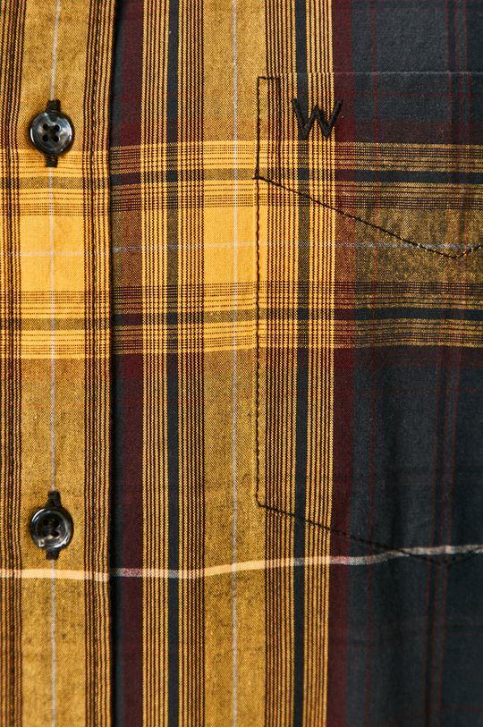Wrangler - Koszula bawełniana żółty