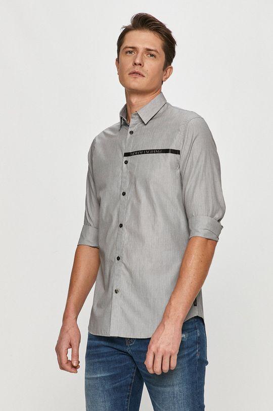 bílá Armani Exchange - Košile Pánský
