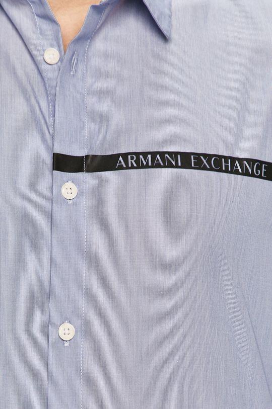 Armani Exchange - Košile světle modrá