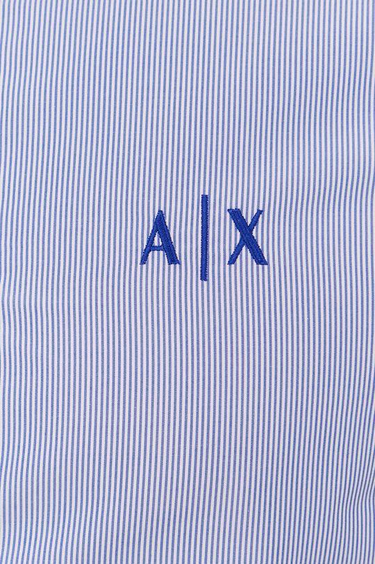 Armani Exchange - Koszula bawełniana niebieski