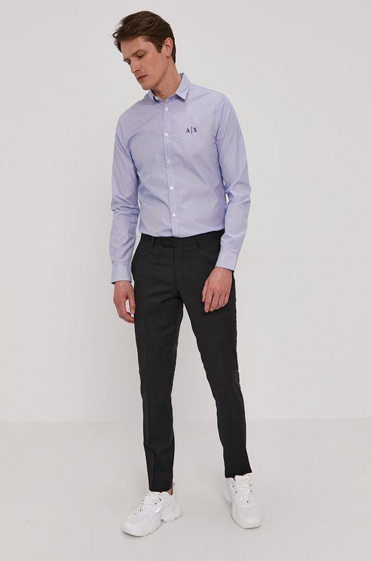 Armani Exchange - Koszula bawełniana 100 % Bawełna