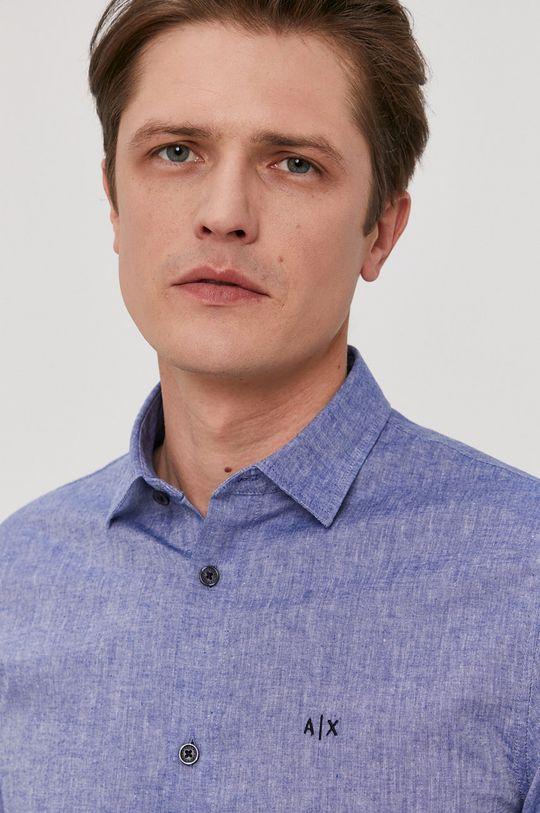 námořnická modř Armani Exchange - Košile Pánský