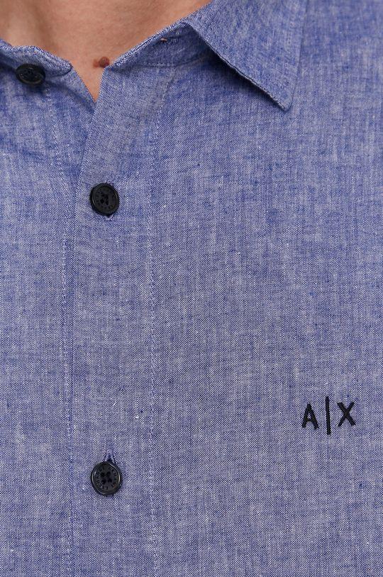Armani Exchange - Košile námořnická modř