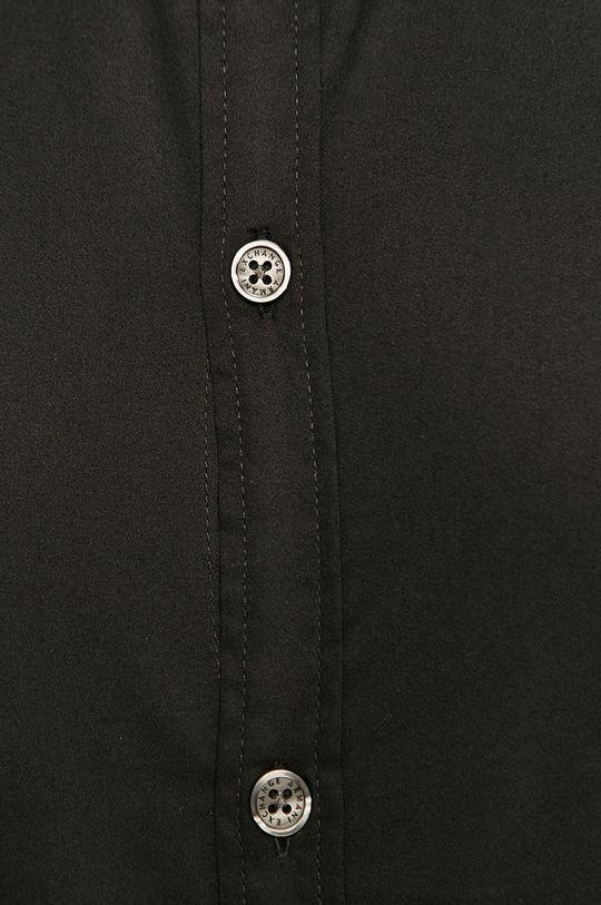 Armani Exchange - Koszula bawełniana czarny