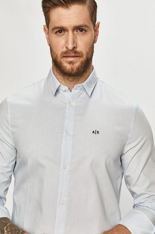 modrá Armani Exchange - Košile Pánský