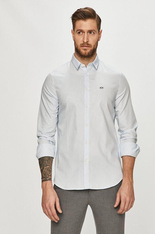 modrá Armani Exchange - Košile