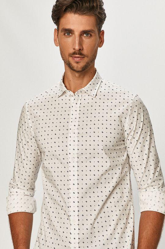biały Armani Exchange - Koszula Męski